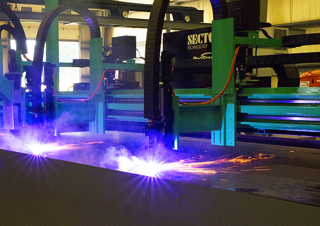 AccuBurn Plasma Cutting Table