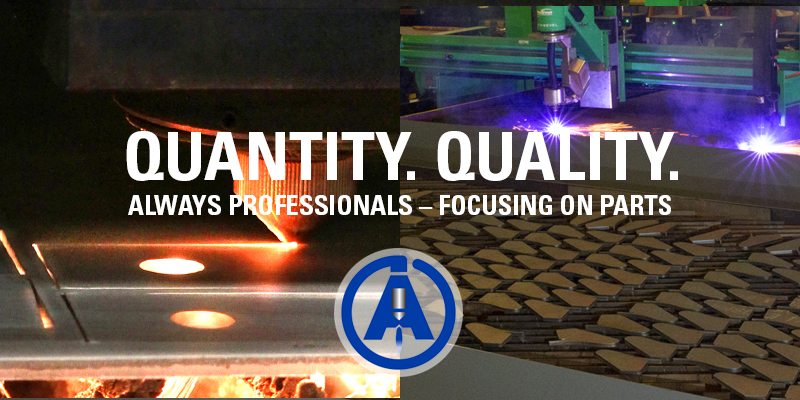 AccuBurn, laser cutting, flame cutting quantity and quality for manufacturers
